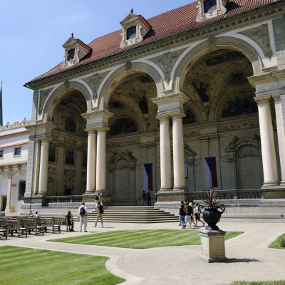 Le palais Wallenstien.