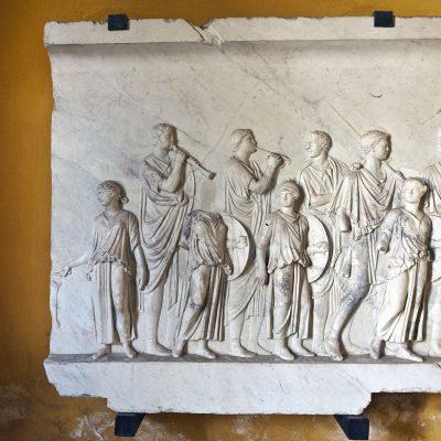 Casa de Pilatos relief. Sevilla. Andalucia. Spain