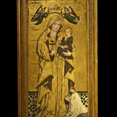 Vierge d'Antigua  - Anonime école Sévillane - Musée des Beaux Arts SÉVILLE 2011