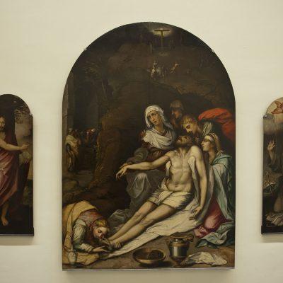 Retable de la déposition (1564) - Église de Sainte-Marie la Blanche Séville - Musée des Beaux Arts SÉVILLE 2011 - Museo de Bellas Artes