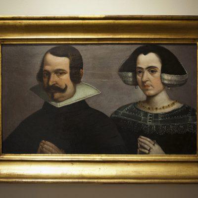 Portrait d'une dame et d'un chevalier  Francisco Pacheco (1564-1644) - Musée des Beaux Arts SÉVILLE 2011