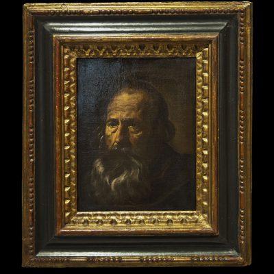 Portrait d'apôtre (1620)- Diego Velazquez (1559-1660) - Musée des Beaux Arts SÉVILLE 2011
