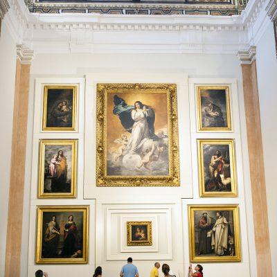 Salle V Murillo et l'école sévillane du baroque Musée des Beaux Arts de Séville 2011