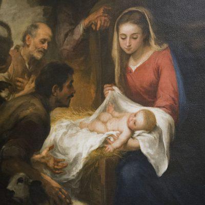L'adoration des pasteurs (1668/69) - Bartolomé Esteban Murillo - Musée des Beaux Arts SÉVILLE 2011 - Museo de Bellas Artes