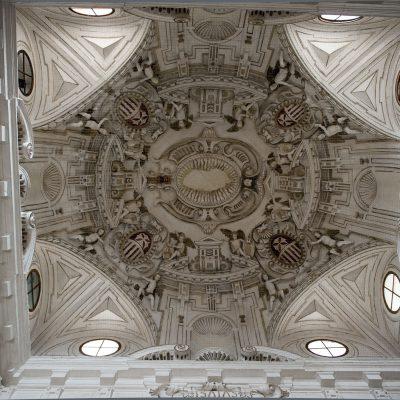 Voute de l'escalier du Musée des Beaux Arts de Séville - 2011