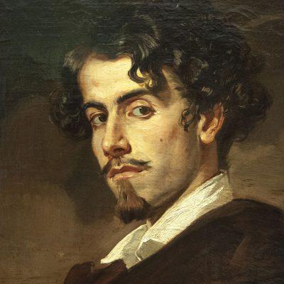 Portrait de Gustavo Adolfo Bécquer. Valeriano Dominguez Bécquer - Musée des Beaux Arts SÉVILLE 2011 - Museo de Bellas Artes