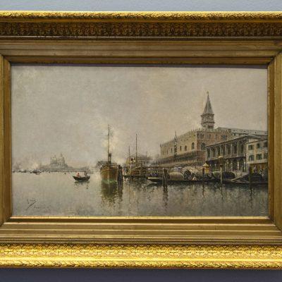 Canal de Venise - Rafael Senet - 1885 - Musée des Beaux Arts SÉVILLE 2011 - Museo de Bellas Artes