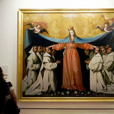 La Vierge de las Cuevas - Francisco de Zurbarán - Musée des Beaux-Arts de Séville.