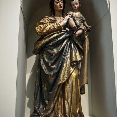 La vierge de Las Cuuevas - Juan de Mesa (Cordoba 1583 - Seville 1627) - Musée des Beaux Arts SÉVILLE 2011 - Museo de Bellas Artes