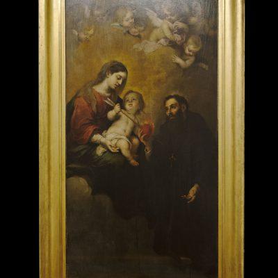 Saint -Augustin avec la vierge et l'enfant - Musée des Beaux Arts SÉVILLE 2011 - Museo de Bellas Artes