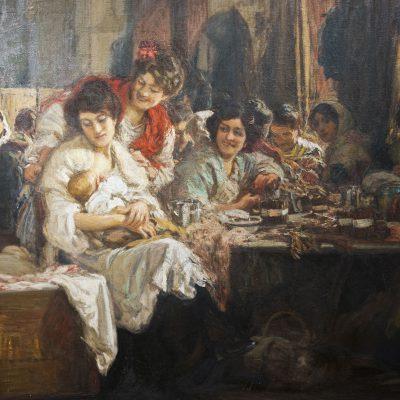 Las Cigarreras (1915)  - Gonzalo Bilbao (1860-1938) - Musée des Beaux Arts SÉVILLE 2011 - Museo de Bellas Artes
