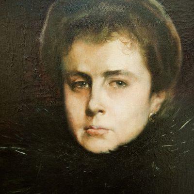 Portrait de femme - Garcia Ramos José (1856-1912) - Musée des Beaux Arts SÉVILLE 2011