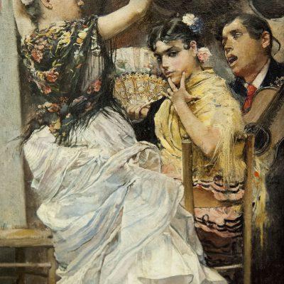Danse pour bulerias - José Garcia Ramos (Séville 1852-1912) - Musée des Beaux Arts SÉVILLE 2011 - Museo de Bellas Artes