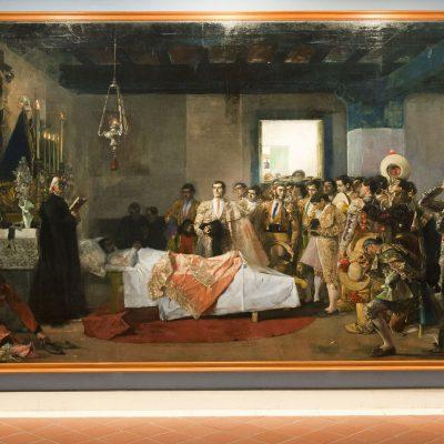La mort du maître - José Villegas Cordero - Musée des Beaux Arts SÉVILLE 2011 - Museo de Bellas Artes