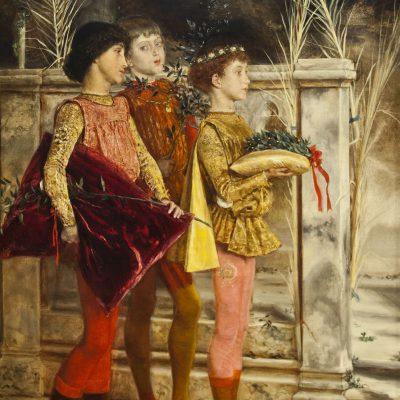 Les pages de la Dogaresa - Villegas Cordero (1844-1921) - Musée des Beaux Arts SÉVILLE 2011