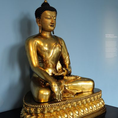 Seated Buddha - 1700-1800 Tbet Gilded copper - Victoria and Albert Museum