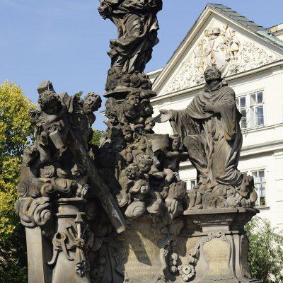 Madone avec Saint Bernard - Matěj Václav Jäckel, 1709.