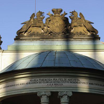 Église Maria Theresia Pia Felix Augusta dans l'enceinte du château de Prague.