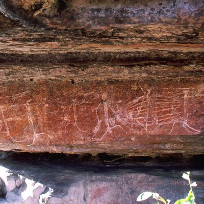 LES PIGEONS VOYAGEURS EN AUSTRALIE > Ed - Ubirr Rock > Ubirr Rock - Peintures rupestres (12) Ubirr Rock - Peintures rupestres