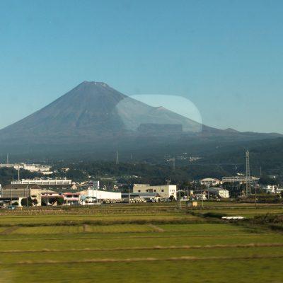 Mont Fuji depuis la voiture du Shinkansen