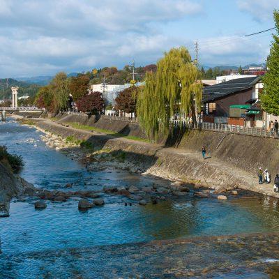 La rivière Miya - Takayama