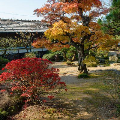 Jardin intérieur de Takayama Jinya