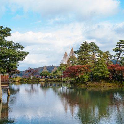 L'un des trois plus beaux jardins du Japon, le Kenroku-en
