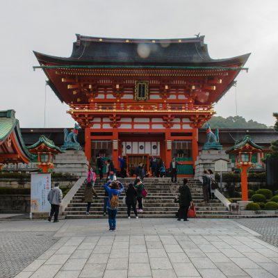 Le temple Fushimi Inari-taisha