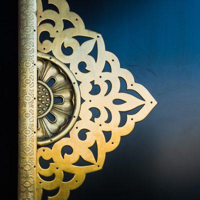 Le temple Senso-ji - détail d'une porte