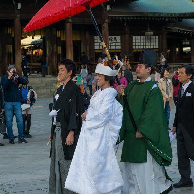Le mariage shinto se dit en japonais shinzen kekkon, littéralement « mariage devant les divinités », et la cérémonie shinzen shiki). Il se déroule dans un sanctuaire shinto.