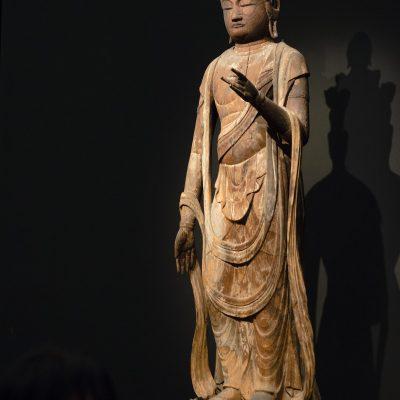Statue d'Ekadasamukha debout - Musée national de Tokyo