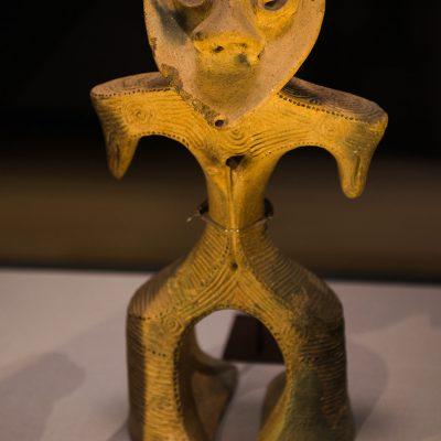 Dogu (Clay Figurine) - From Gohara, higashi Agatsuma-machi, Gunma - Jomon period, 2000-1000 BC