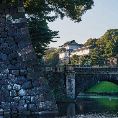 Le palais impérial de Tokyo est situé dans l'arrondissement de Chiyoda, en plein centre de la capitale japonaise. Cerné par ses douves d'origine, le complexe abrite la résidence actuelle de l'Empereur appelée Kokyo, ainsi que plusieurs parcs