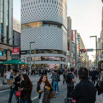 Quartier commerçant de Ginza