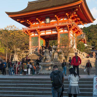 Porte Niō-mon - Le temple Kiyomizu-dera