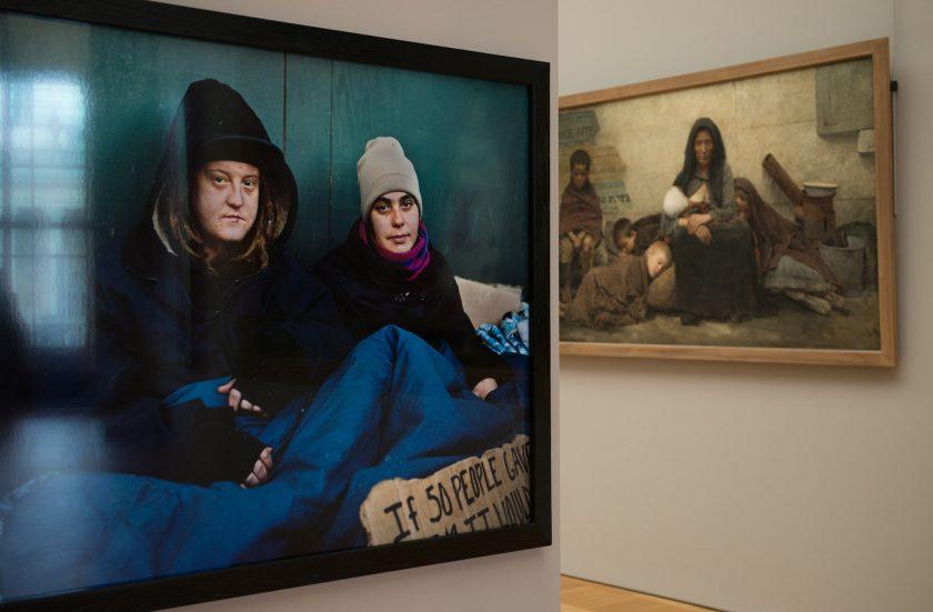 Petit Palais :  exposition Andres Serrano  photographe contemporain américain