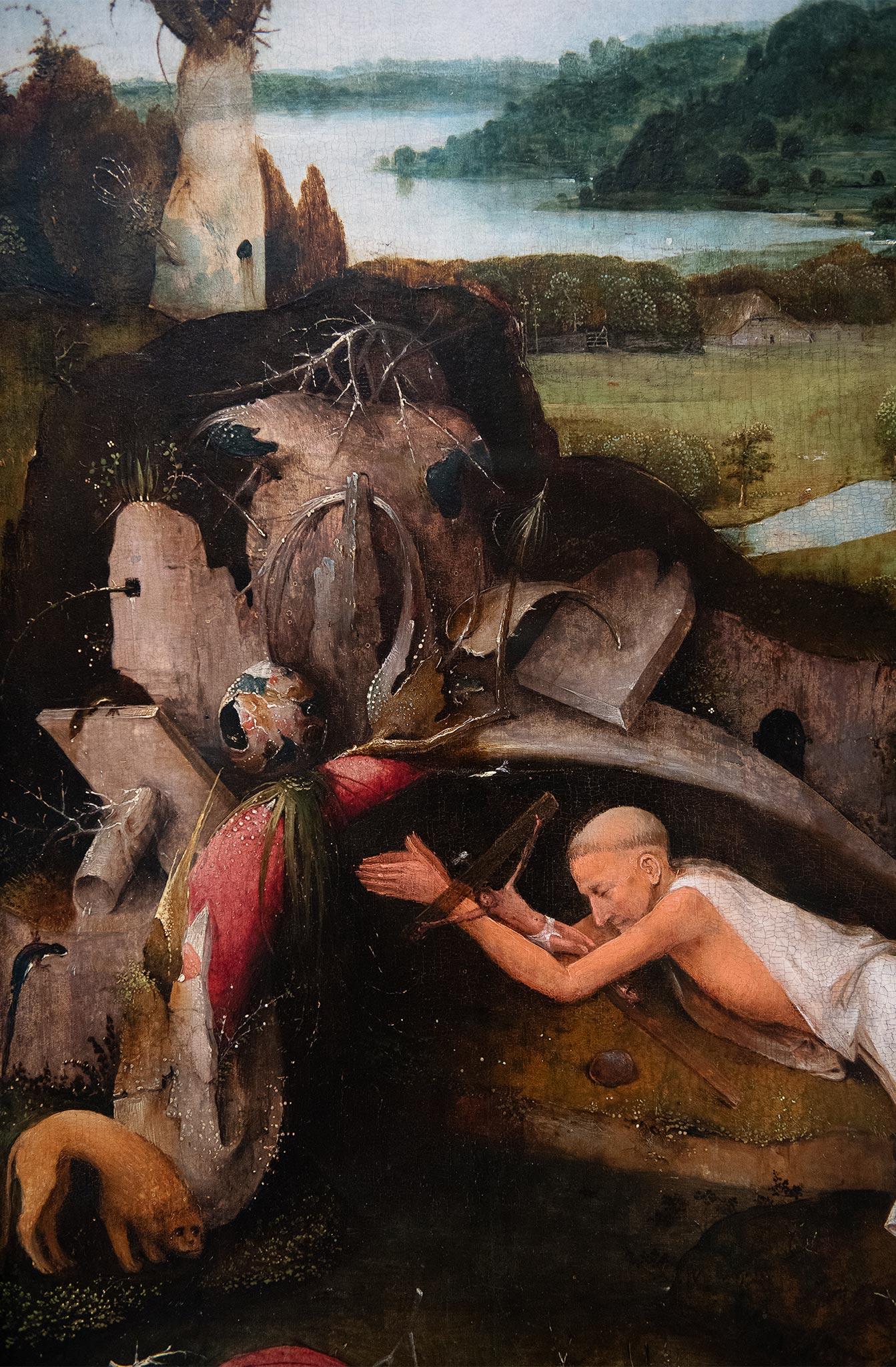 Jheronimus Bosch - Saint Jérôme ca. 1485 Huile sur toile: 80,1 cm x 60,6 cm 1908-H
