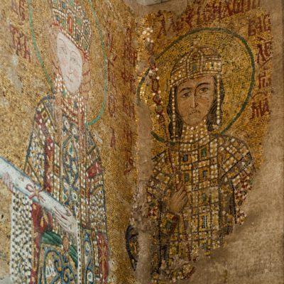 Mosaïque d'Alexis Comnène (pilier droit).